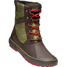 Keen Elsa II Quilted WP Shoes Women mulch/martini olive